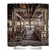 Abandoned Winery In The South Of France Shower Curtain