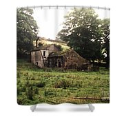 Abandoned Yorkshire House  Shower Curtain