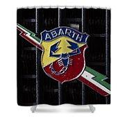 Abarth Emblem Shower Curtain