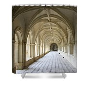 Abbaye De Frontevraud  Cross Coat Shower Curtain