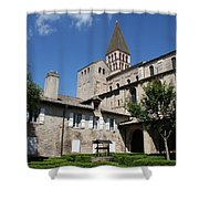 Abbey Church St. Philibert - Tournus Shower Curtain