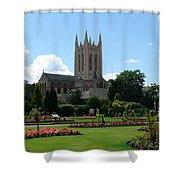 Abbey Gardens Shower Curtain