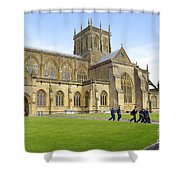 Abbey Life Shower Curtain