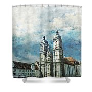 Abbey Of St Gall Shower Curtain