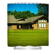 Abbey Of The Genesee Shower Curtain