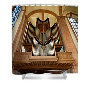 Abbey Organ Shower Curtain