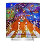 Abbey Road In 50 Years Shower Curtain
