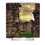 Abbey Ruins Shower Curtain