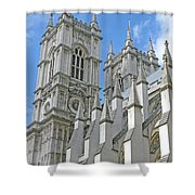 Abbey Towers Shower Curtain
