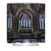 Abbey View Shower Curtain