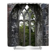 Abbey Window  Shower Curtain