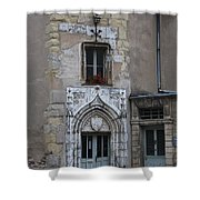 Abbot Palace Entrance Cluny Shower Curtain
