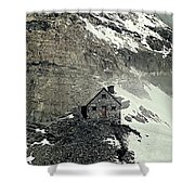 Abbot's Hut 2 Shower Curtain