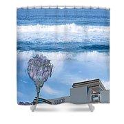 Abbott Kinney #1 Shower Curtain