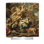 Abduction Of Orithyia Shower Curtain