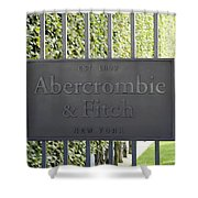 Abercrombie And Fitch Store In Paris France Shower Curtain