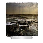 Aberffraw Sunset Shower Curtain