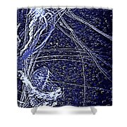 Aberration Of Jelly Fish In Rhapsody Series 3 Shower Curtain