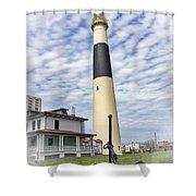Abescon Lighting New Jersey Shower Curtain