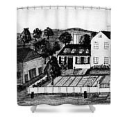 Abigail Adams Home Shower Curtain