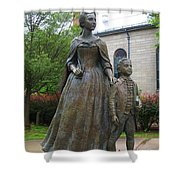 Abigail Adams Statue Shower Curtain