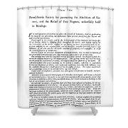 Abolition, 1789 Shower Curtain