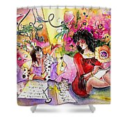 About Women And Girls 16 Shower Curtain