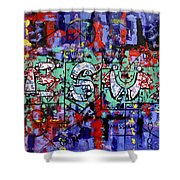 Above All Names Shower Curtain by Anthony Falbo