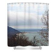 Above Arcadia Shower Curtain