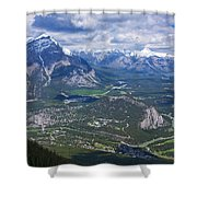 Above Banff Shower Curtain