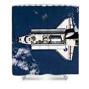 Above Earth Shower Curtain