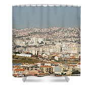 Above Lisbon Portugal Shower Curtain