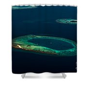 Above Paradise - Turtle Shower Curtain