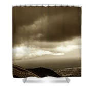 Above - Sicily Shower Curtain
