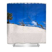 Above The Dunes Shower Curtain