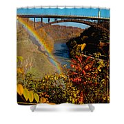Above The Falls Shower Curtain