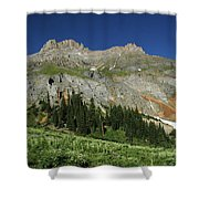 Above The Fruited Plains Shower Curtain