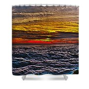 Above The Marine Layer V3 Shower Curtain