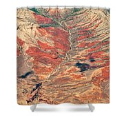 Above Timber Line Shower Curtain