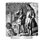 Abraham Darby (1678-1717) Shower Curtain