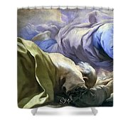 Abraham Heard The Promises Of The Lord Shower Curtain