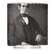 Abraham Lincoln, 1809 – 1865.  16th President Of The United States Of America.  From Abraham Shower Curtain