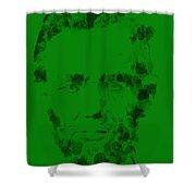 Abraham Lincoln 2a Shower Curtain