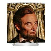Abraham Lincoln Shower Curtain