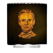 Abraham Lincoln  Shower Curtain by David Dehner