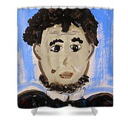 Abraham Lincoln Future President Shower Curtain
