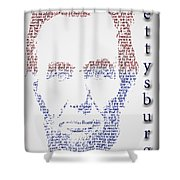 Abraham Lincoln  Shower Curtain by Gary Keesler
