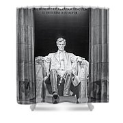 Abraham Lincoln Memorial Shower Curtain