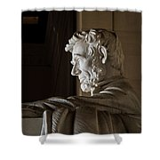 Abraham Lincoln Monument Shower Curtain