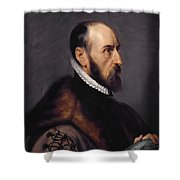 Abraham Ortelius Shower Curtain